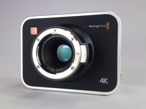 Blackmagic 4K Camera Front Angle Sensor at Texas Media Systems