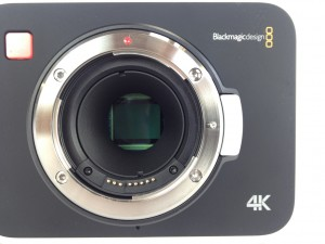 Blackmagic 4K Camera Sensor Close at Texas Media Systems