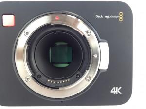 Blackmagic 4K Camera Sensor Close at Texas Media Systems