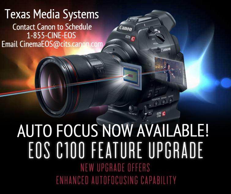 Canon C100 Cinema EOS Cameras