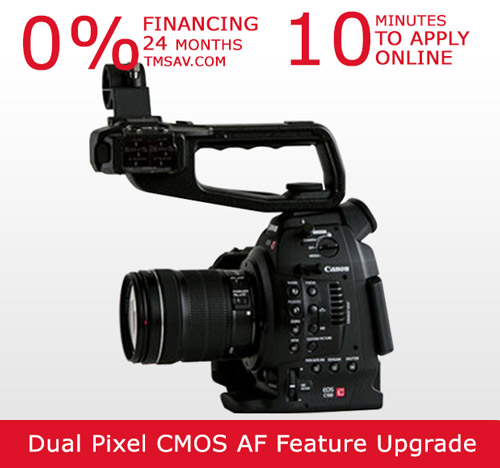 Canon C100 Auto Focus with 18-135mm EF-S