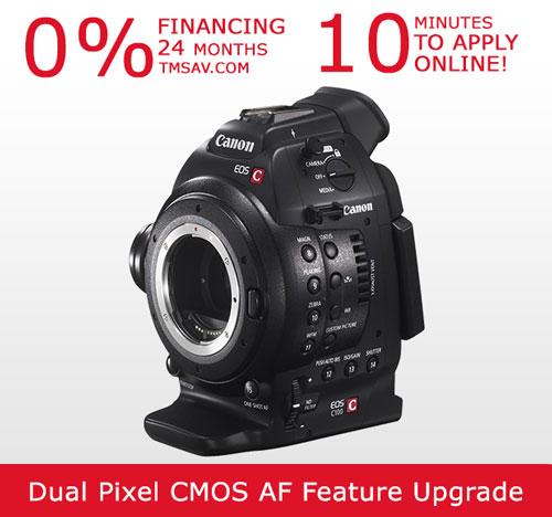 Canon C100 Auto Focus Body