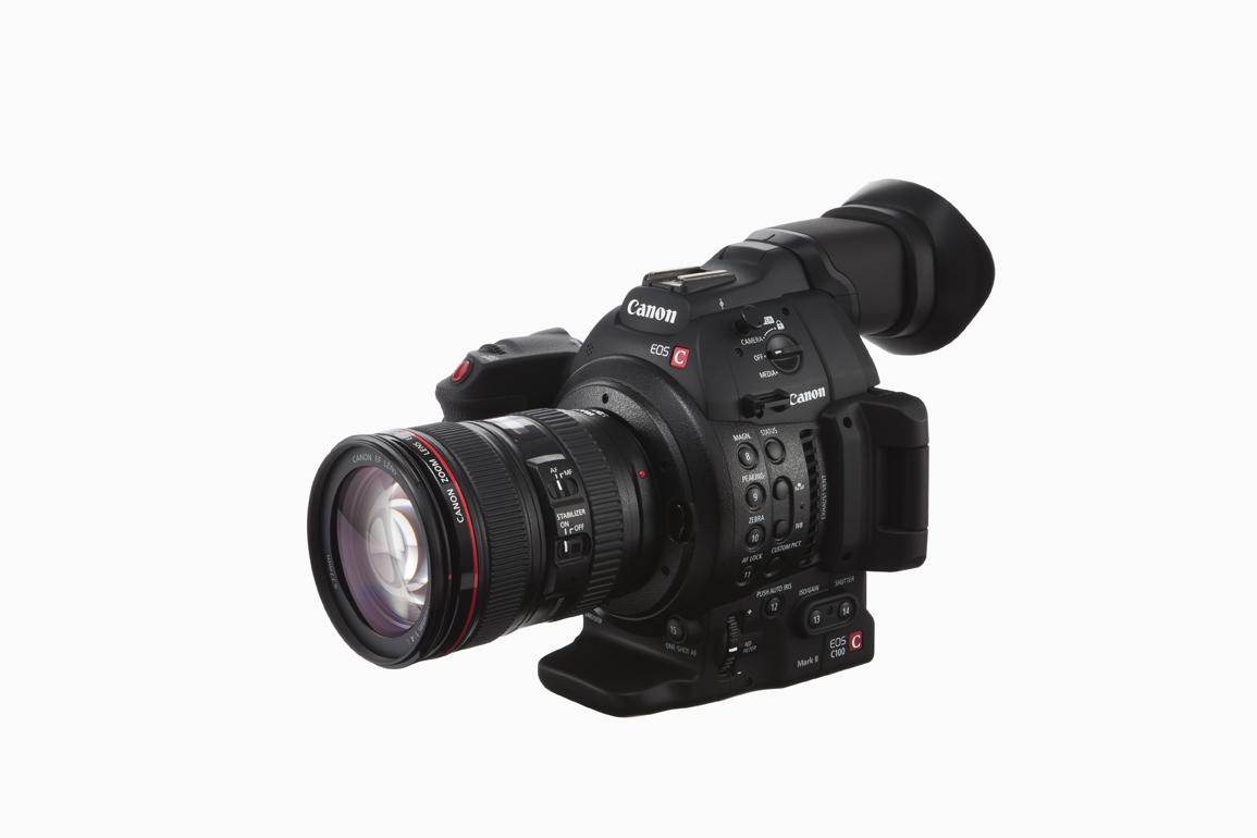 Canon C100 Mark II Cinema EOS Camera