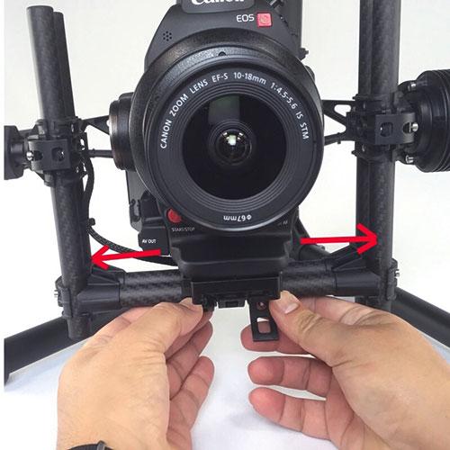 Canon C100 MkII 10-18mm EF-S Macro Lens