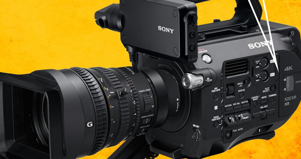 Sony FS7 Firmware Update 3.0