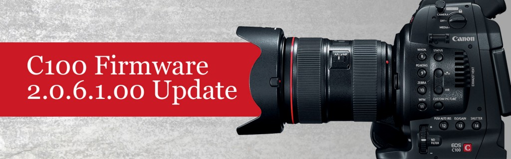 Canon C100 EOS Cinema Camera Firmware 2.0.6.1.00