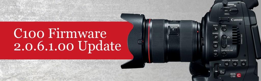 Canon C100 EOS Cinema Camera Firmware 2.0.6.1.00