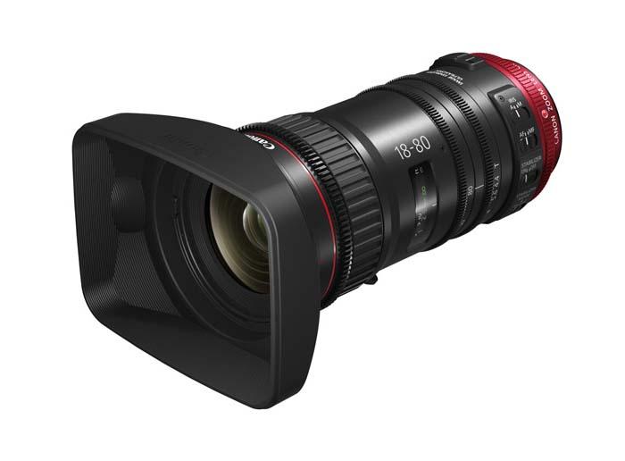 Compact-Servo 18-80mm T4.4 EF Lens