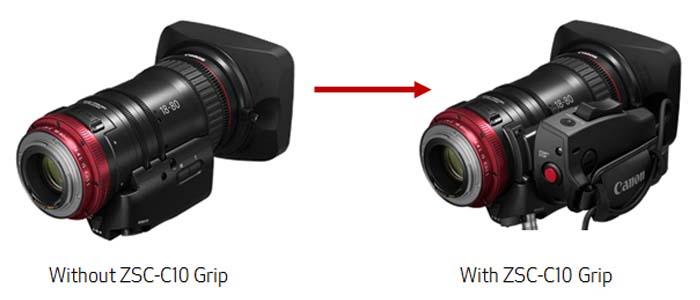 Canon Compact-Servo 18-80mm T4.4 EF lens