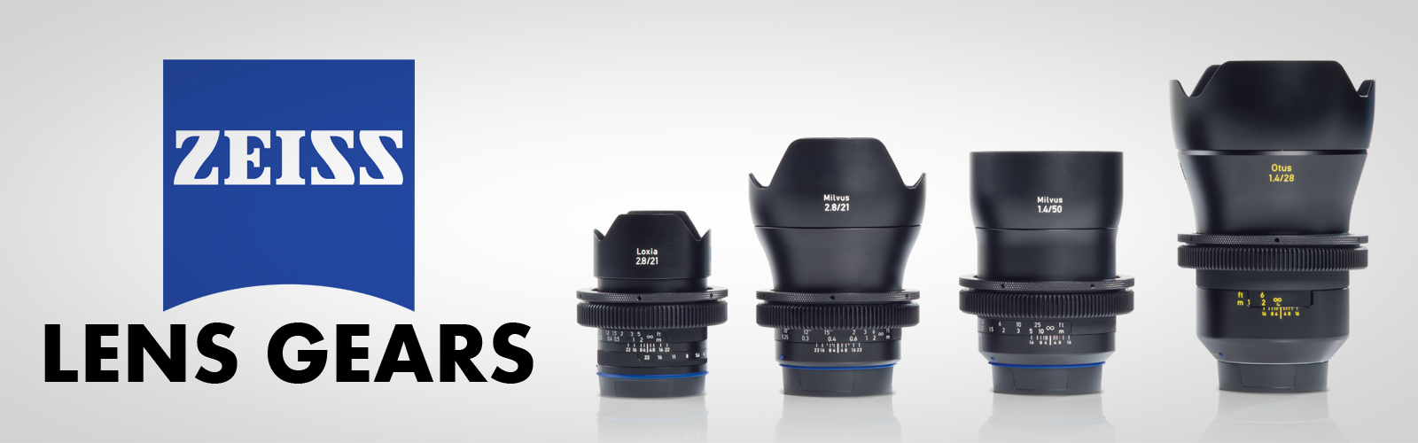 ZEISS Lens Gear Rings & Lens