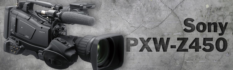Sony 4K XDCAM PXW-Z450 Targets Broadcasters