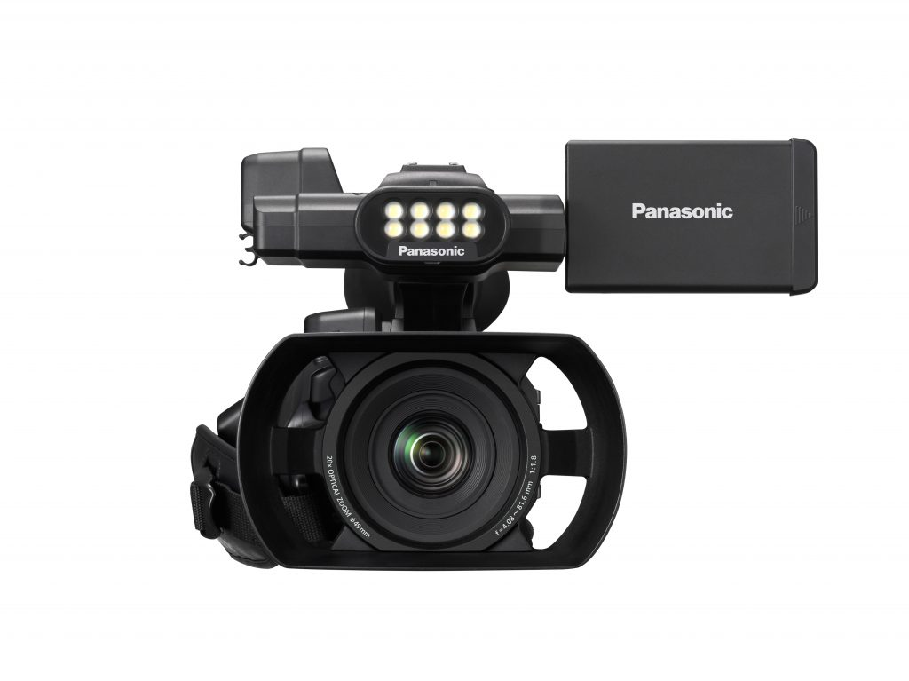 Panasonic AG-AC30 AVCHD Handheld Camcorder w/ Onboard LED