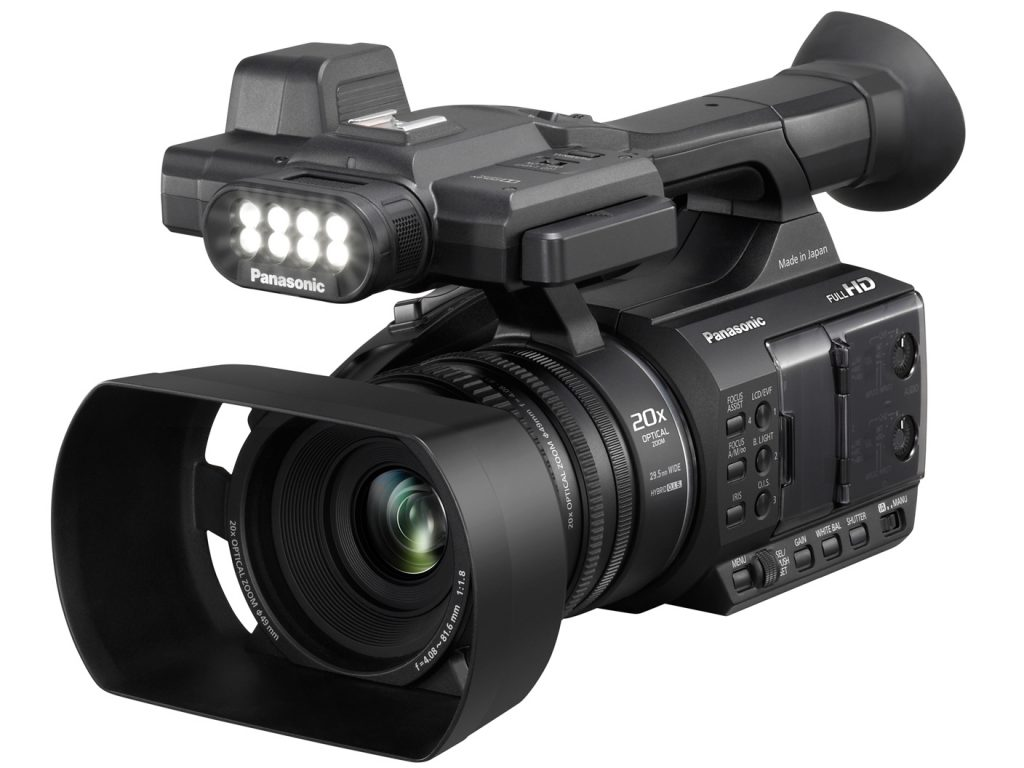 Panasonic AG-AC30 AVCHD Handheld Camcorder