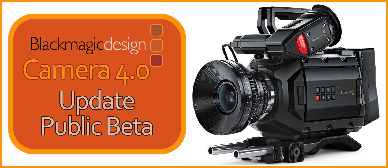 Blackmagic Design URSA Mini 4k EF Camera