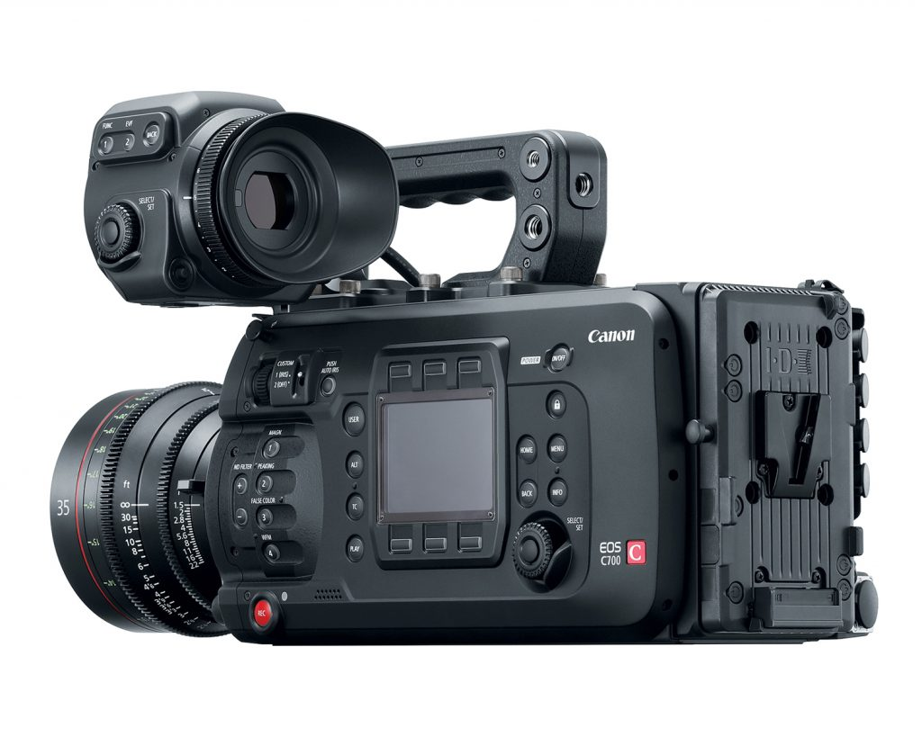 Canon C700 PL Mount Cinema EOS Camera