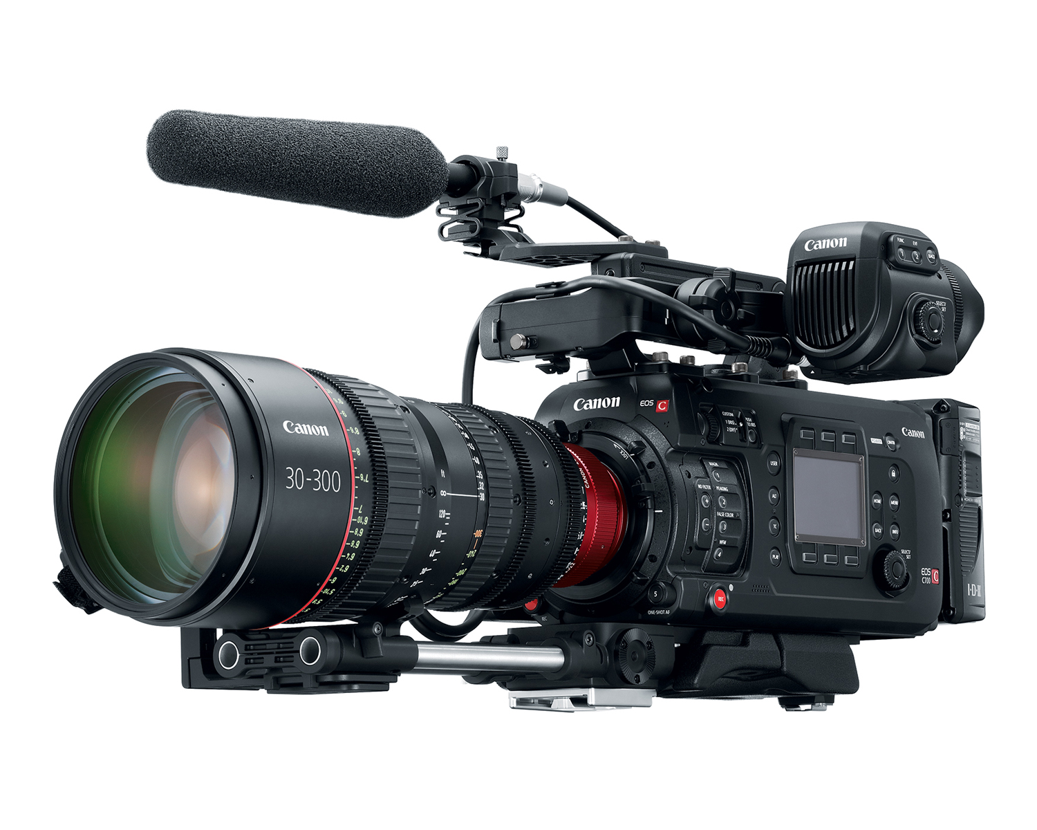 Canon C700 PL with 30-300mm Cinema Zoom Lens