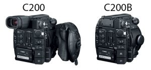 The back of the C200 compared to the C200B