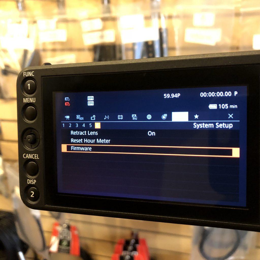 Canon C200 C200B firmware