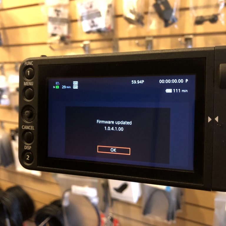 C200: Canon Notice Regarding C200 C200B Firmware Issue
