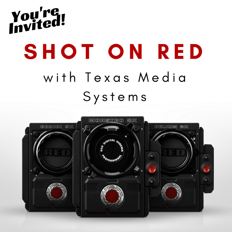 RED Texas media systems